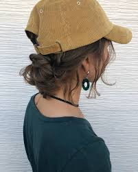 女らしさをプラス大人のキャップコーデに合うヘアアレンジ保存版2019
