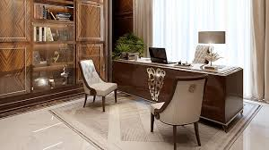Office design images Luxury Office Design Roomsketcher Original Office Design In Dubai By Luxury Antonovich Design