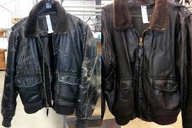 leather jacket cleaner leather flight jacket cleaning before and after pictures by leather jacket cleaner