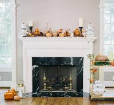 Decorate your fireplace mantel for Halloween with FashionableHostess.com ...