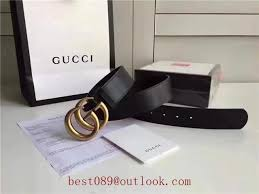 best replica gucci leather belt with double g buckle varied colors