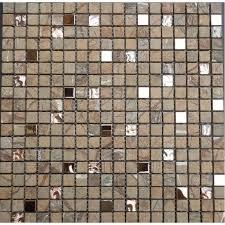 stone wall mosaic glass metal kitchen backsplash tiles 3 5 small tile squares bathroom