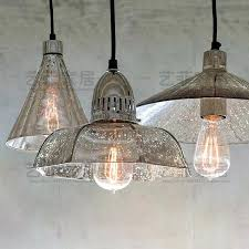 mercury glass chandelier export retro industrial loft antique mercury glass chandelier cafe single head restaurant in