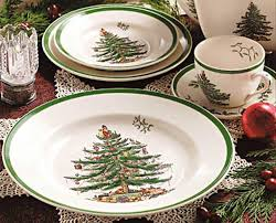 Christmas Tree Plates