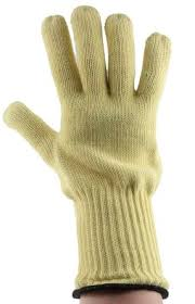 Ansell Mercury Kevlar Gloves Size 10 Yellow Heat Resistant