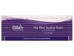 Shop | Category: Rulers/Templates | Product: Ruler - Mini Scallop & Ruler - Mini Scallop Adamdwight.com