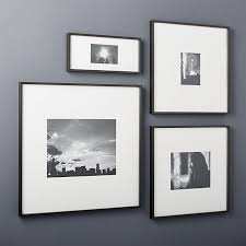 gallery black picture frames