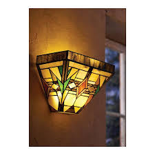wireless wall sconce mission style