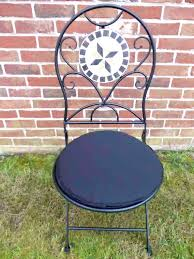 I Round Bistro Chair Cushion Cushions Garden Furniture  Seat Pad
