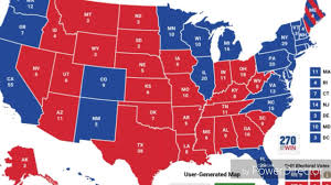electoral college map saturday october   the latest cnn