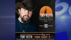Toby Keith To Headline Grandstand Acts At 2018 South Dakota