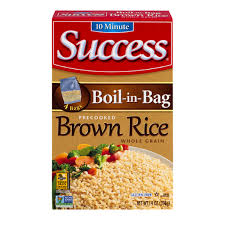 bag of rice png. Unique Png Success BoilInBag Whole Grain Brown 4 Ct Rice Throughout Bag Of Png D
