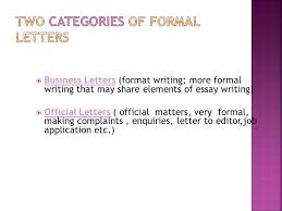 to teach students to write letters  to teach students the  6  business letters format writing more formal writing that share elements of essay writing  official letters official matters very formal