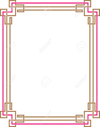 Image Greeting Card Frame Border Design Vector Art Stock Vector 32259988 123rfcom Frame Border Design Vector Art Royalty Free Cliparts Vectors And