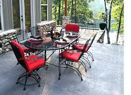 wrought iron patio furniture cushions. Wrought Iron Patio Furniture Pads Chair Cushions Outdoor Off Dogwood Dining Set . U
