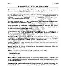 lease termination agreement form 340x339