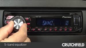 pioneer deh x2700ui wiring diagram pioneer image pioneer deh x2600ui car stereo display and controls demo on pioneer deh x2700ui wiring diagram