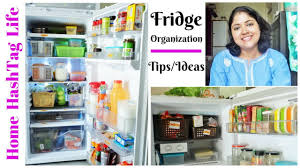 Fridge Organization Ideas L Indian Fridge Tour L How To Organize Fridge Refrigerator