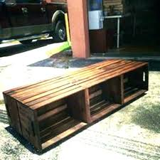 wooden milk crates wood crate table stand the best ideas on hobby lobby