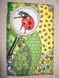 Even MORE Postcard Quilts | The Quilter: Quilting with Malke & Ladybug Postcard Quilt Adamdwight.com