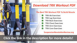 the best trx workout pdf to build muscle