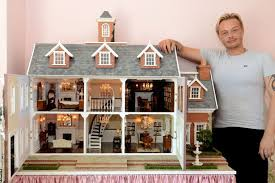 the detailed dolls house made by hairdresser sean valentine image wales news service