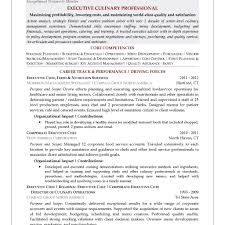 Chef Resume Templates Executive Resume Templates Resume Templates