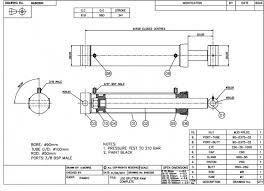 log splitter cylinders ramko hydraulic cylinders double acting hydraulic log splitter cylinder log splitter 90mm bore 50mm rod 341mm stroke