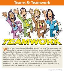 Teamwork Presentations Teamwork Cartoon Readytomanage