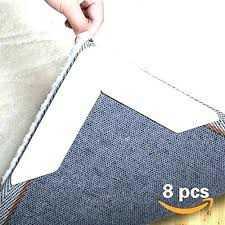 gorilla gripper home depot rug gripper non slip pad 8 for area rugs anti curling double