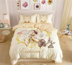 incredible disney beauty and the beast belle princess bedding sets for girls princess bed set remodel