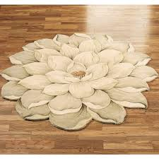 wonderful gray bathroom rugs with endearing tulips pattern on brown flooring