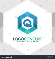 Q Letter Logo Icon Mosaic Pattern Design template Element