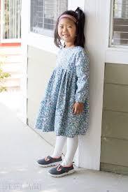 Free Dress Sewing Patterns Interesting Free Dress Pattern Girls Sweet Rose Dress Life Sew Savory
