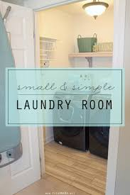 Ballard Designs Laundry Room Rack Laundry Room Tour Clean Mama