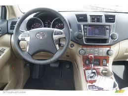 2013 Toyota Highlander Limited Sand Beige Dashboard Photo ...