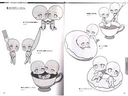super deform pose collection vol 7 couples in love pose drawing reference book