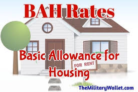 2015 Bah Chart 2017 Bah Rates Current Basic Allowance For Housing Rates