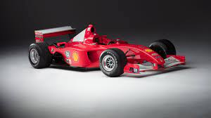 A Rare Chance To Own One Of Michael Schumacher S F1 Race Cars