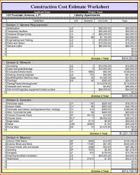 Building A Home On A Budget Homestruction Checklist Template Excel Building Maintenance