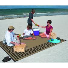 patio mats 9 x 12 reversible rv patio mat indoor outdoor rug beach mat