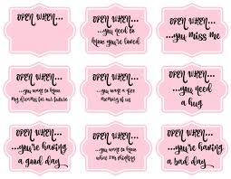17 Cute Printable Open When Letters Kittybabylove
