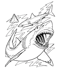 Small Picture Coloring Pages Sharks itgodme