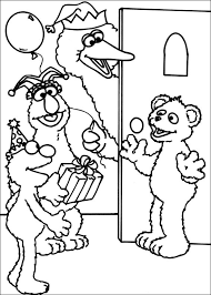 Small Picture Free Printable Sesame Street Coloring Pages For Kids
