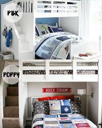 Pottery Barn Boy Bed DIY - Bunk Beds