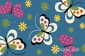Детский ковер <b>CRYSTAL</b> 0772-<b>BLUE</b> Merinos <b>Россия</b> — купить в ...