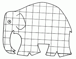 Elmer Coloring Page Printable Coloring Page For Kids