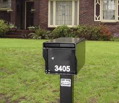 heavy duty mailbox. Delighful Duty Heavy Duty Locking Mailbox Standard  Inside D