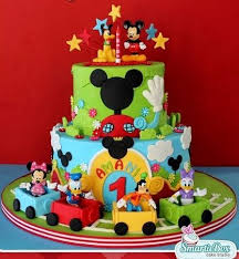 20 Top Mickey Mouse Birthday Cakes Ideas Marks 2nd Birthday