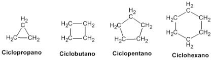 Risultati immagini per ciclobutano